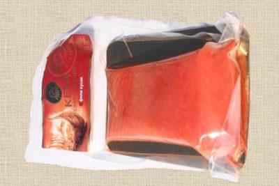 Кета слабосолёная филе-кусок, пресервы 150г